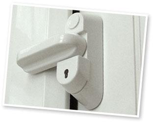 Key Lock Sash Jammer
