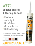 WP70 General Sealing & Glazing Silicone