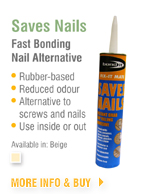 Saves Nails Fast Bonding Nail Alternative
