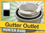 Uni-Fit Gutter Outlet Universal Spigot